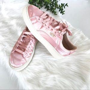 Puma Vikki Satin Sneakers